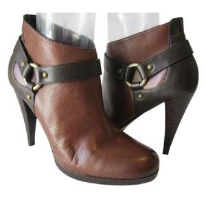 NEW Cole Haan Leather Ankle Boot